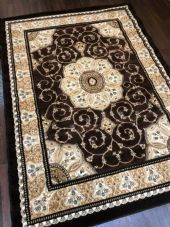 Modern Aprox 6x4ft 115x1165cm Woven Stunning Rug Top Quality Brown-Beige rugs